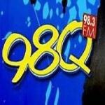 Logo da emissora Radio WDAQ 98.3 FM