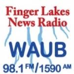 Logo da emissora WAUB 1590 AM