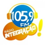 Logo da emissora Rádio Integração 105.9 FM