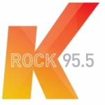 Logo da emissora Radio K rock 95.5 FM