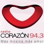 Logo da emissora Radio Corazón 96.7 FM