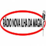 Logo da emissora Rádio Ilha da Magia