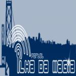 Logo da emissora Rádio Nova Ilha da Magia