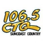 Logo da emissora WCTQ 106.5 FM CTQ