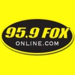 Logo da emissora WFOX 95.9 FM The Fox