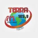 Logo da emissora Rádio Terra 105.9 FM