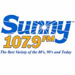 Logo da emissora Radio WEAT 107.9 FM