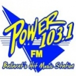 Logo da emissora Radio Power 103.1 FM