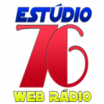 Logo da emissora Rádio Estúdio 76