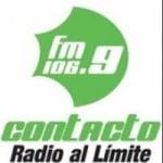 Logo da emissora Radio Contacto 106.9 FM