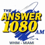 Logo da emissora Radio WHIM 1080 AM