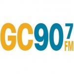 Logo da emissora WKGC 90.7 FM