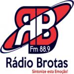 Logo da emissora Rádio Brotas 1480 AM