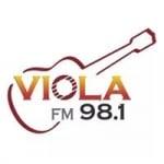 Logo da emissora Rádio Viola 98.1 FM