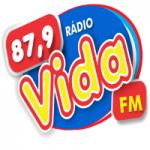 Logo da emissora Rádio FM Vida 87.9