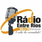 Logo da emissora Rádio Entre Rios 105.5 FM