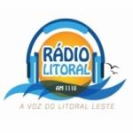 Logo da emissora Rádio Litoral 1110 AM