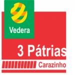 Logo da emissora Rádio Vedera 3 Pátrias
