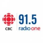 Logo da emissora CBC Radio One 91.5 FM