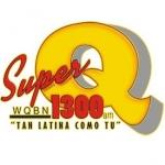 Logo da emissora WQBN 1300 AM