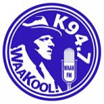 Logo da emissora Radio WAAK 94.7 FM