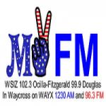 Logo da emissora Radio WSIZ 102.3 FM