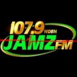 Logo da emissora Radio 107.9 WDBN JAMZ FM