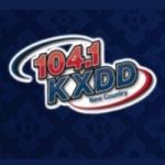 Logo da emissora KXDD 104.1 FM