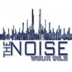 Logo da emissora WGUR 95.3 FM The Noise