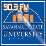 Logo da emissora Radio WHCJ 90.3 FM