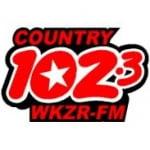 Logo da emissora WKZR 102.3 FM