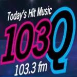 Logo da emissora WQGA 103.3 FM Q