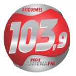 Logo da emissora Rádio Antena Hits 103.9 FM