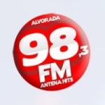 Logo da emissora Rádio Antena 98.3 FM