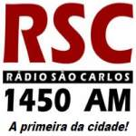 Logo da emissora Rádio São Carlos 1450 AM
