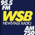 Logo da emissora WSBB 95.5 FM WSB