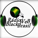Logo da emissora Rádio Web Black Brasil
