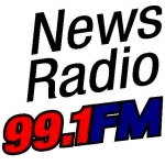 Logo da emissora KNIF 99.1 FM