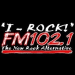 Logo da emissora KIRQ 102.1 FM I-Rock