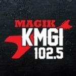 Logo da emissora KMGI 102.5 FM