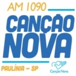 Logo da emissora Rádio Canção Nova 1090 AM