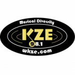 Logo da emissora Radio WKZE 98.1 FM