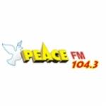 Logo da emissora Radio Peace 104.4 FM