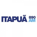 Logo da emissora Rádio Itapuã 890 AM