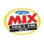 Logo da emissora Rádio Mix 103.1 FM