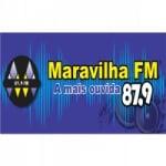 Logo da emissora Rádio Maravilha 87.9 FM