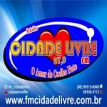Logo da emissora Rádio Cidade Livre 87.9 FM