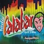 Logo da emissora Rádio Calabar 87.9 FM