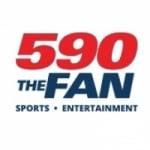 Logo da emissora Radio KFNS 590 AM