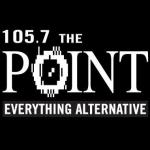 Logo da emissora Radio KPNT The Point 105.7 FM